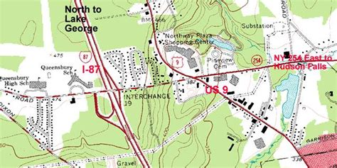 queensbury ny interstate 87 the adirondack northway exit 19 glens