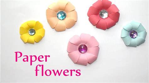 easy paper flower crafts for diy crafts paper flowers easy innova crafts doovi