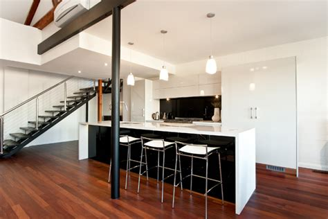 warehouse kitchen design modern classic completehome