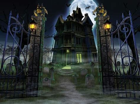 haunted house this is halloween pinterest