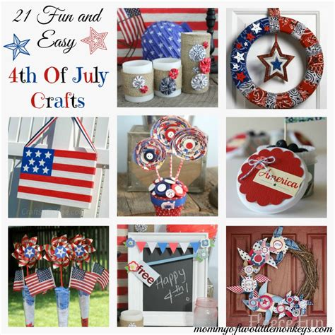 easy 4th of july crafts for 21 easy 4th of july crafts
