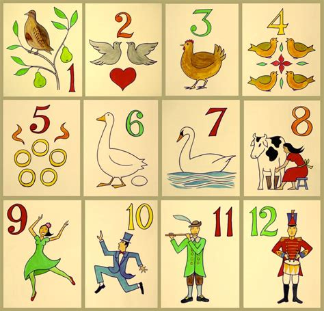 12 days of tree the twelve days of song