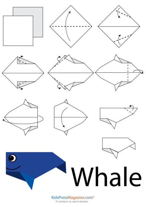 how to make an origami whale easy origami whale 1 kidspressmagazine
