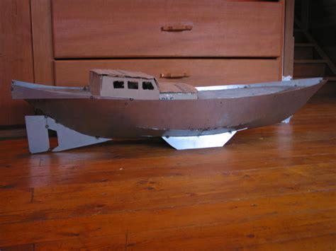 origami steel sailboat paul s junk sv seeker