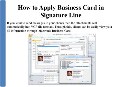 how to make a business card in microsoft word create business card in microsoft outlook