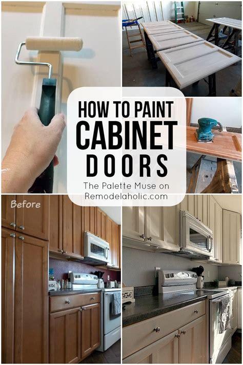 kitchen cabinet door paint remodelaholic how to paint cabinet doors