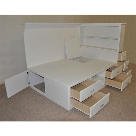 how to make a size bed frame with drawers white bed frame with storage storage bed how to build a