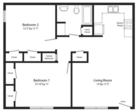 two bed two bath floor plans 2 bed 2 bath floor plans 51 images 2 bedroom 2 bath