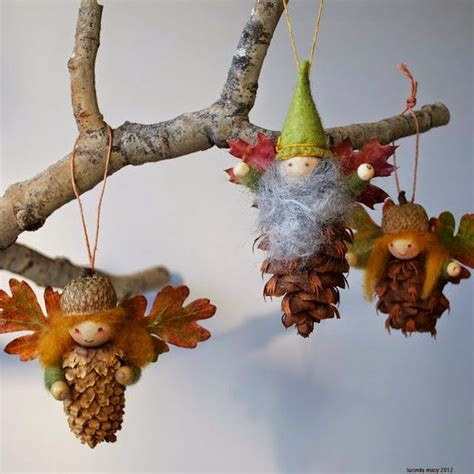 pine cones tree ornaments 7 crafts with pine cones and felt petit small
