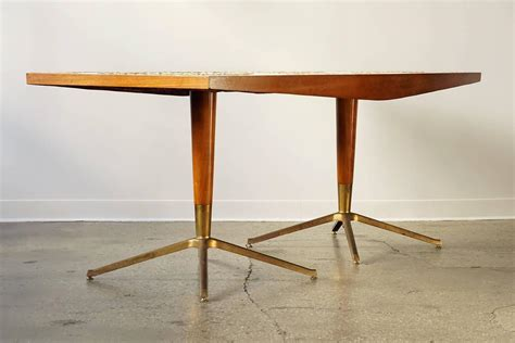 Mosaic Dining Room Table mid century mosaic dining table at 1stdibs