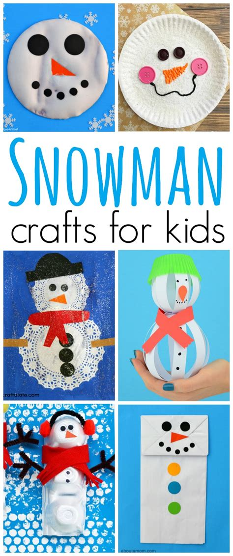 crafts activities for 23 snowman crafts for the resourceful