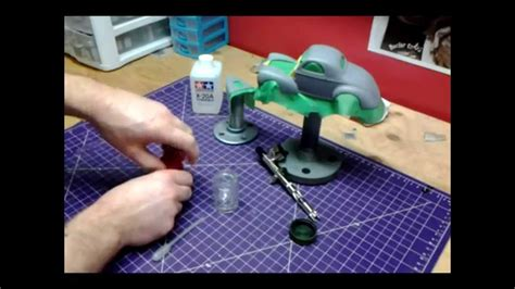 with airbrush how to mix tamiya acrylic paint for airbrushing