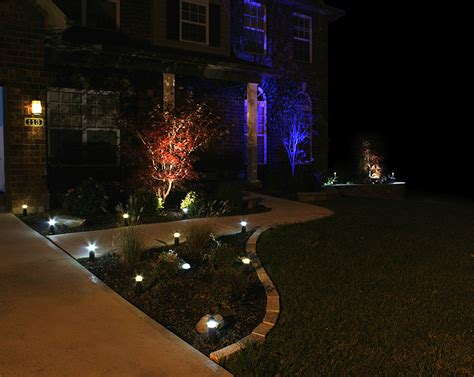 spotlight landscape lighting 3 watt rgb led landscape spotlight led landscape