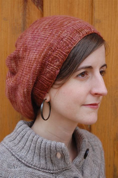 knitting patterns for slouchy hats free knitting patterns galore parisian slouch hat