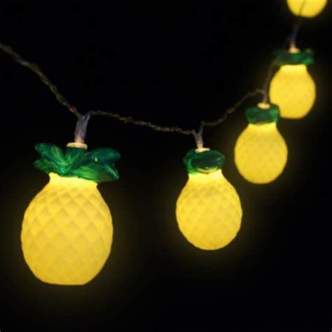 novelty lights uk pineapple string lights
