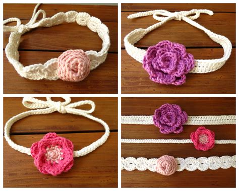 how to knit baby headbands patterns crochet flower headband pattern baby crochet and knit