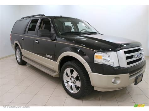 2007 Ford Expedition by 2007 Black Ford Expedition El Eddie Bauer 110642729