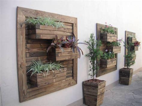 planter walls in gardens think green 20 vertical garden ideas