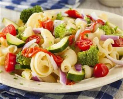 recette de salade de p 226 tes aux l 233 gumes minceur