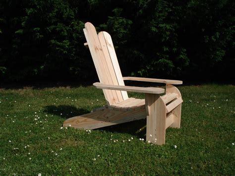les plans du quot fauteuil adirondack quot eric bricol