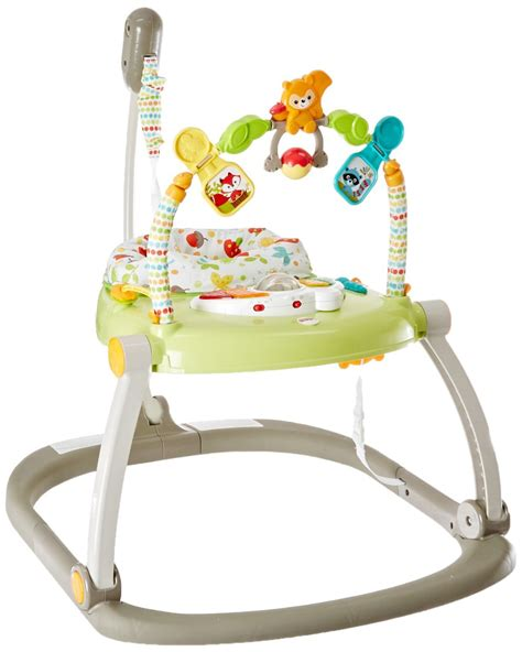 fisher price woodland creatures space saver jumperoo