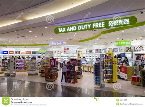 melbourne shop tax and duty free shop in melbourne airport editorial