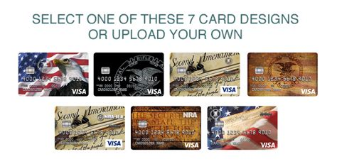 make your own credit card design nra