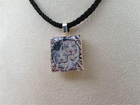 scrabble tile necklace scrabble tile pendant necklace white tiger 183 knotjustknots