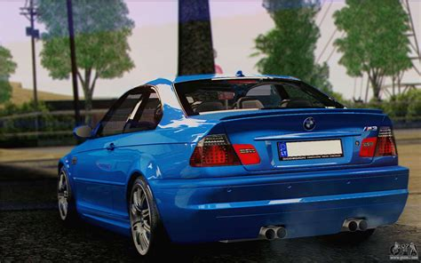 2005 Bmw M3 by Bmw M3 E46 2005 For Gta San Andreas