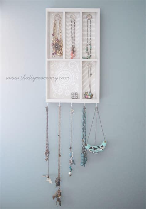 make a jewelry holder make a jewelry holder from a cutlery tray the diy