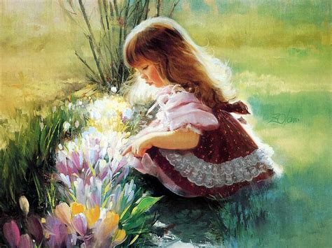 flower child painting children paintings children paintings for sale