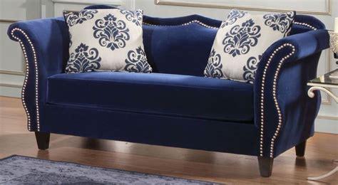 royal furniture living room sets zaffiro royal blue living room set from furniture of