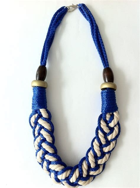rope jewelry 126 best diy necklaces images on necklaces