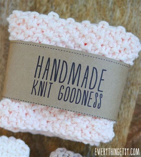 made by tags for knitting handmade knit goodness labels free printables on
