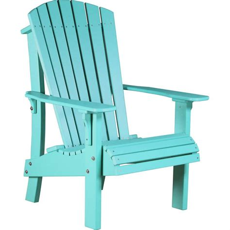 Luxcraft Adirondack Chairs by Luxcraft Poly Royal Adirondack Chair High Back