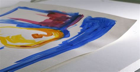 acrylic paint on canvas paper paper warping when painting with acrylics just paint