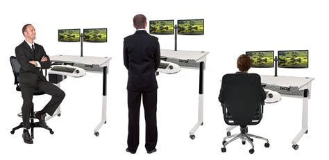 standing office desk furniture standing desks sit to stand workstation table