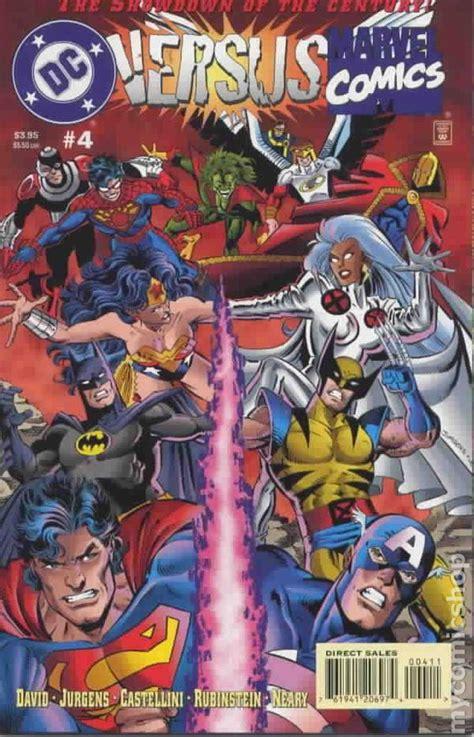 comics vs marvel vs dc 1996 comic books