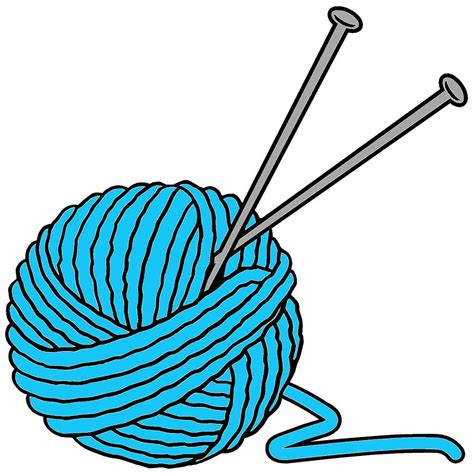 knitting for knitting cliparts