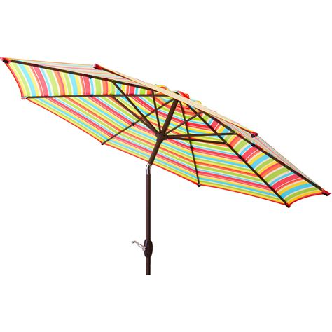 patio umbrellas at walmart patio umbrella 9 aluminum patio market umbrella tilt w