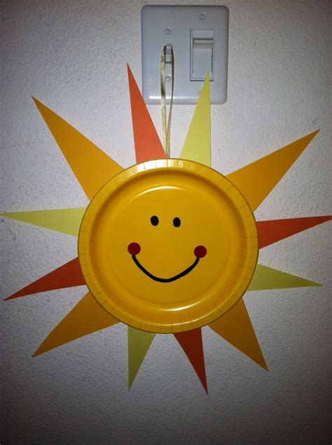 sun crafts for happy day pre k crafts happy day craft