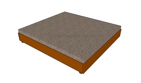 king size bed frame plans king platform bed plans howtospecialist how to build