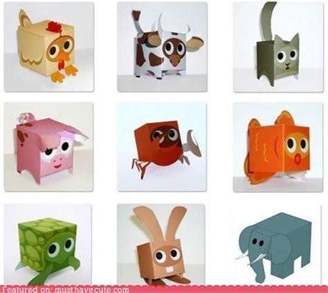 paper craft animals free diy paper box animals how unique papercraft