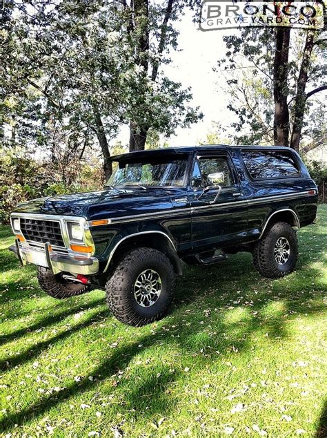 79 Ford Bronco by 79 Ford Bronco Trucks