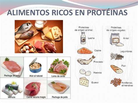 proteinas en los alimentos - Alimentos Con Alto Contenido En Proteinas