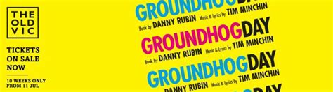 groundhog day tickets groundhog day theatre breaks ticket and hotel offers