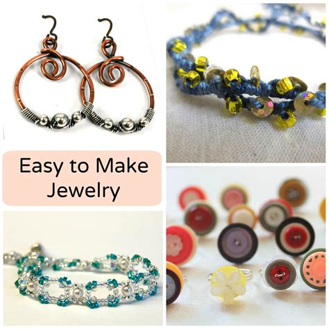 easy jewelry how to make dangle earrings in 4 simple steps