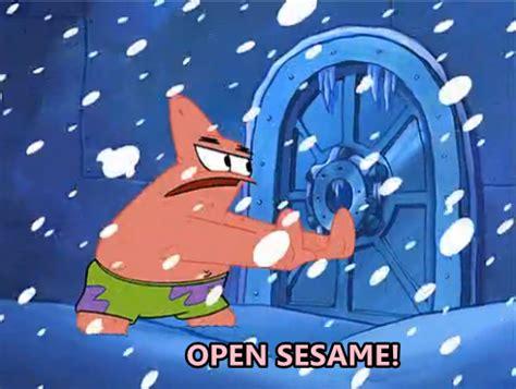 open sesame open sesame