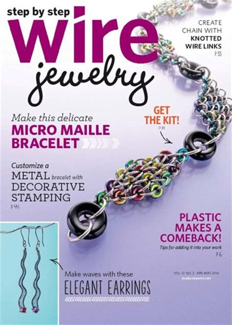 jewelry magazine step by step wire jewelry magazine subscription discounts