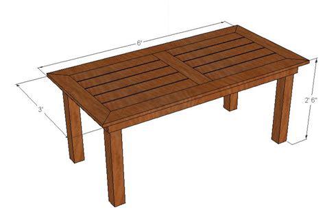 cedar patio table pdf plans cedar patio table diy diy cedar planter